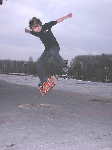 Конкурсная фотография.Занимается скейтбордингом.