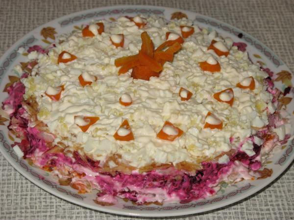 салат лесная быль с фото